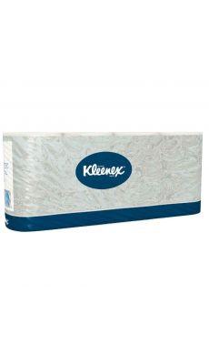 Rouleaux de papier toilette Kleenex ultra - Lot de 8