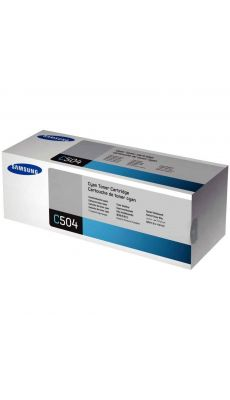 SAMSUNG - Toner Samsung CLT-C504S cyan
