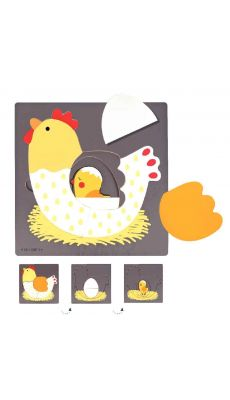 Encastrement 3 niveaux la poule