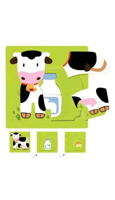 Encastrement 3 niveaux la vache