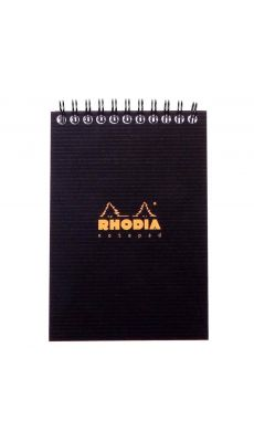 RHODIA - Bloc RhodiActive à reliure intégrale 80 feuilles format A6