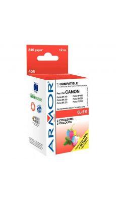 ARMOR - K20282 - Cartouche compatible Canon CL511 cyan / magenta / jaune