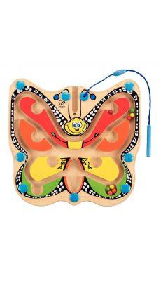 Labyrinthe magnétique. Le papillon