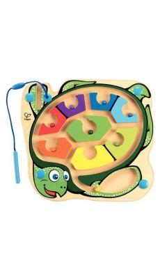 Labyrinthe magnétique. La tortue