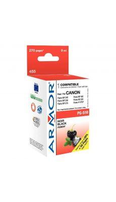 ARMOR - K20281 - Cartouche compatible Canon PG510 Noir