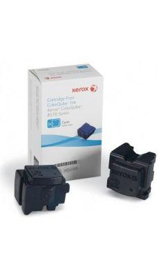Boite de 2 bâtonnets d'encre solide Xerox 108R00931 Cyan
