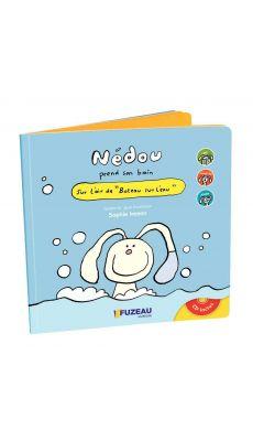 Livre Cd NEDOU prend son bain 2 ans +