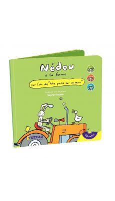 Livre Cd Nedou à la ferme 2 ans +