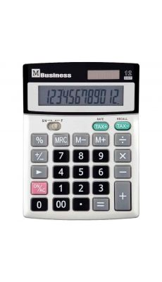 Calculatrice de bureau 12 chiffres M Business