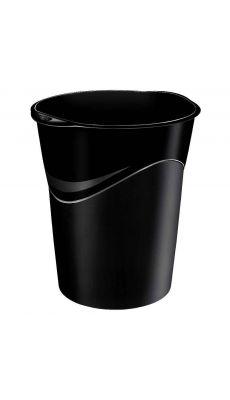 CEP - 280R - Corbeille à papier ovale 14 litres noire recyclable