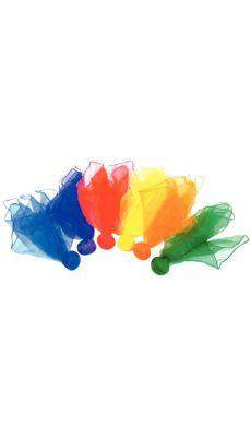 Foulard lestes couleur assortie - set de 6