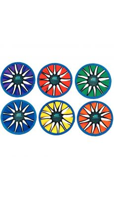 Frisbee Twist 30cm couleur assortie