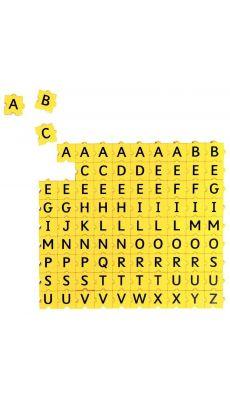 Sachet de 90 Lettres Majuscules 3 x 3 cm.
