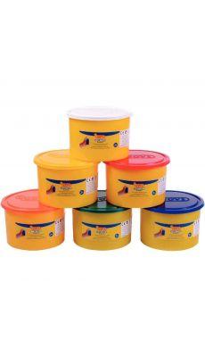 Pack de 6 pots de 480G de pâte à jouer Blandiver