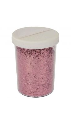 OZ INTERNATIONAL - SC40775 - Salière de 100 g de poudre scintillante. Coloris rose