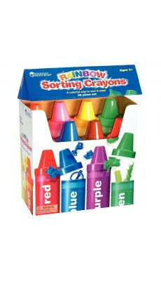 Crayons de couleurs géants - Boite de 8