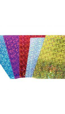 MAILDOR - 354696 C - Carte holographique 35x50cm - Pochette de 10 feuilles