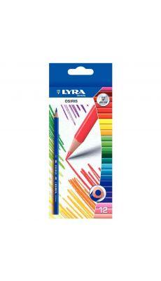 Etui de 12 crayons de couleur triangulaires Ø2.8mm