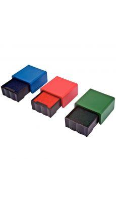 PRINTY - Lot de 3 cassettes d'encre assorties rouge / bleu / vert