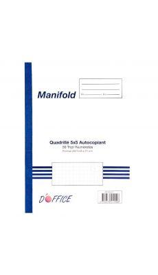 Manifold NCR 148X210mm 50 tripli