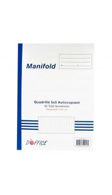 Manifold NCR 297X210mm 50 tripli