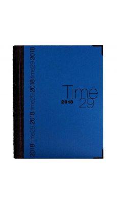 Exacompta - 296122E - Agenda journal 29 spirale Bleu Time