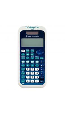 TEXAS INSTRUMENTS - Calculatrice scientifique texas Ti-Collège plus solaire