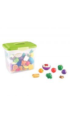 Baril de 101 aliments maxi en plastique