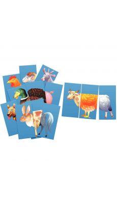 Mic Max 30 pièces :  Thème les animaux de la ferme.