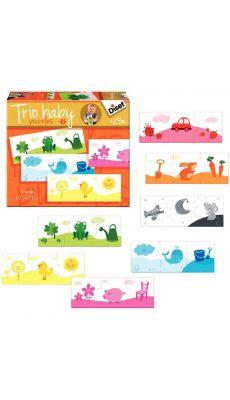 Puzzles Trio Baby couleurs - Boite de 7