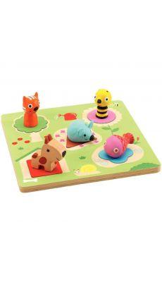 Encastrement 3D : la souris et ses amis
