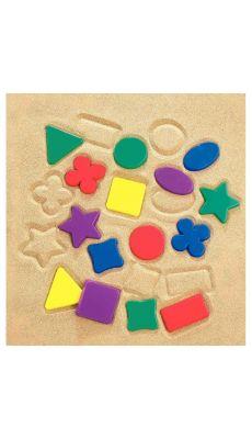 Moules formes géométriques assortis - Sachet de 64