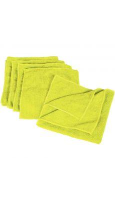 Microfibres tricotée vert - Paquet de 5