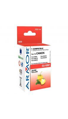 ARMOR - K12564 - Cartouche compatible Canon CLI-526 Jaune