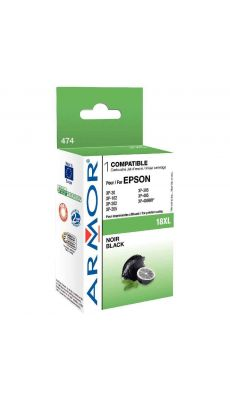 ARMOR - K12614 - Cartouche compatible Epson T1811 Noir