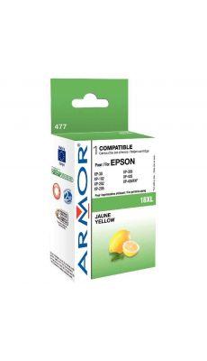 ARMOR - K12617 - Cartouche compatible Epson T1814 Jaune haute capacité