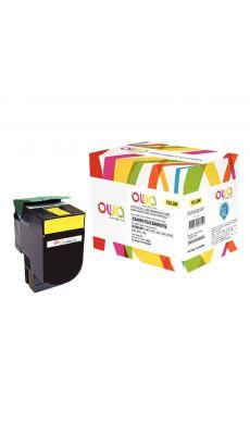 ARMOR - K15470 - Toner compatible Lexmark C540H1YG Jaune