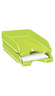 CEP - 200+G - Corbeille a courrier fond plein gloss vert anis