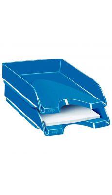 CEP - 200+G - Corbeille à courrier fond plein gloss bleu océan