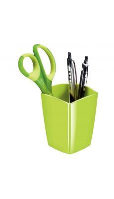 CEP - 530G - Pot à crayon 2 cases gloss vert anis