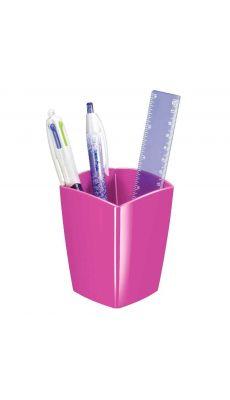 CEP - 530G - Pot à crayon 2 cases gloss rose pepsy