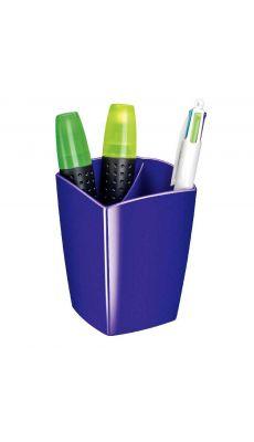 CEP - 530G - Pot à crayon 2 cases gloss violet