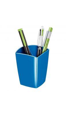 CEP - 530G - Pot à crayon 2 cases gloss bleu océan