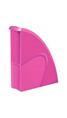 CEP - 674+G - Porte-revues en polystyrène gloss rose dos 8.5cm