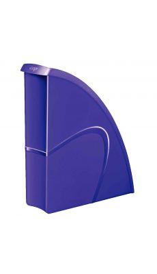 CEP - 674+G - Porte-revues en polystyrène gloss violet dos 8.5cm