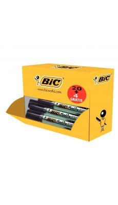 ONYX  - 920954 - Pack de 24 marqueurs 1481 pointe biseautée dont 4 gratuits noir