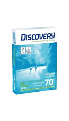 Discovery - 398901 - Ramette papier A4 70g - Blanc - 500 Feuilles