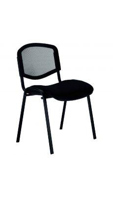 Chaise d'accueil Isomesh Ergo noir