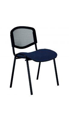 Chaise d'accueil Isomesh Ergo bleu