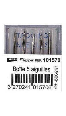 Agipa - 101570 - Aiguille pour pistolet réf 24278 - Boite de 5